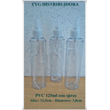 Envases 125ml Para Perfumes Plasticos Spray Transp Lotex100