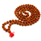 Japa Mala Rudraksha - Rosario Hindu - Intikilla Tienda