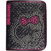 Fichario Monster High + Bolsinha + Bl 48 Fls- Tilibra