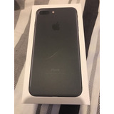 Iphone 7 Plus Color Negro Mate En Perfectas Condiciones
