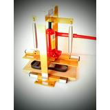Maquina De Fabricar Chinelos Completa - Corta Fura E Fresa