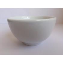 Tigela Branca Porcelana Jogo Com 12 Tigelas 550ml