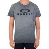 Camiseta Masculina Oakley Especial Brand Sp Chumbo