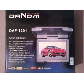 Monitor Lcd De Techo Para Carro Marca Danon 12.1 C/control