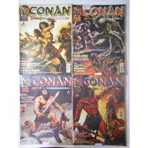 Conan 2003 Editora Mythos Nº Do 18 À 62 (preto E Branco)