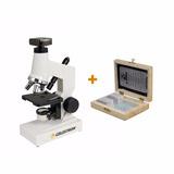 Microscopio Celestron Digital Kit + Set De Muestras