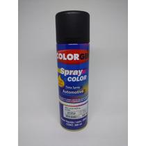 Tinta Spray Automotiva Colorgin Preto Fosco Alta Temperatura
