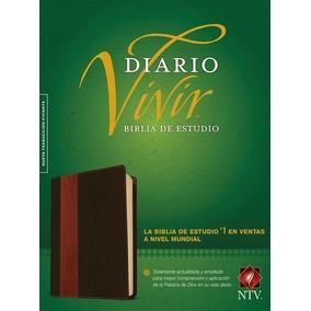 Biblia De Estudio Diario Vivir Sentipiel Cafe/cafe. Ntv