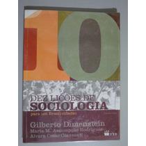 Livro Dez Lições De Sociologia Para Um Brasil Cidadão -
