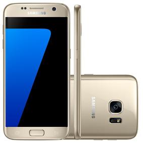Smartphone Samsung Galaxy S7 G930f Dourado, 32gb, 4gb Ram