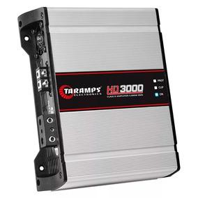 Modulo Taramps 3000w Hd3000 1 Ch 2 Ohm Amplificador Hd 3000