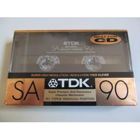 Fita K7 Tdk Sa 90 - Lacrada - Importada