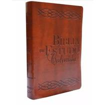 Bíblia De Estudo Colorida Varias Cores Capa Luxo