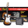 Pack Guitarra Electrica Squier Fender Stratocaster Original
