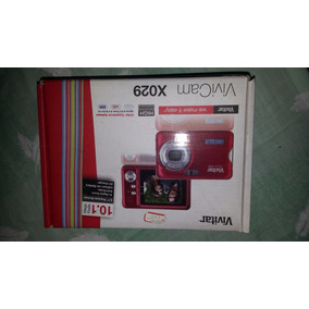 Camara Vivitar X029 10.1 Mp 2.4-in Screen Con 4x Zoom