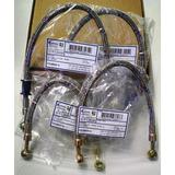 Flexivel De Freio Rd 350 ( Kit 4 Pçs) Airquip Malha Aço Inox