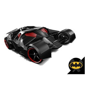 Batmóvel The Dark Knight Batmobile Hot Wheels