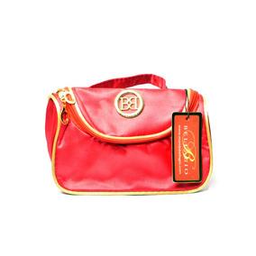 Porta Cosmetico Para Dama Bellagio Bags Color Rojo