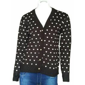 Blusa De Frio Feminina Casaco Cardigan Suéter Lã Trico