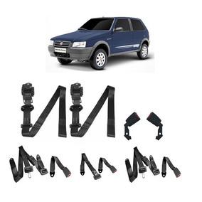 Kit Cinto Segurança Fiat Uno 2 Portas - Completo