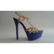 Calzado Sandalias Plataforma Para Dama Mujer