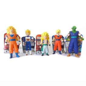 Set De Muñecos De Dragon Ball Coleccionables (5 Pz) Ban Dai