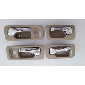 Kit 4 Manijas Interiores Del. Tra.honda Accord 90 - 93 Beige