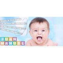 Invitaciones Tarjetas Original Cumpleaños Infantil Con Foto