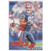 2010 Topps Lee Evans Buffalo Bills