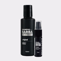 Kit Para Barba Comprida Usebarba Duo - Shampoo + Óleo