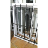 Ventana Aluminio Bl V/e 150x110 +reja +mosquitero +persiana