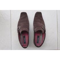 Sapato Cns Camursa Marron 38