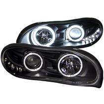 Camaro 98-01 Kit De Luces Negras Faros Calaveras Cuartos
