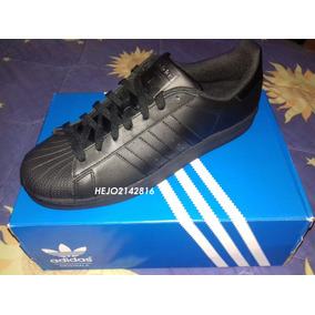 adidas Superstar Foundation Triple Negro Af5666 Importadas