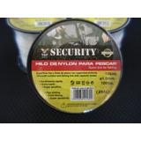 Hilo De Nylon Para Pescar 100lbs. Top Security.