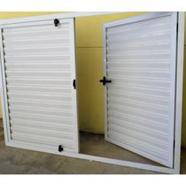 Postigon Aluminio Blanco Para Ventana 150x110
