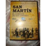 San Martin Combate De San Lorenzo Dvd Original En Caballito*