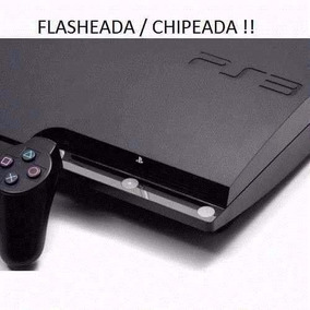 Play 3 Ps3 Reacondicionada+ Flash ! 20 Juegos Garantia 1año