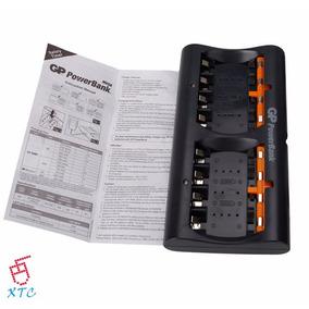 Cargador Gp 8 Pilas Powerbank 5 Horas 1000mah Aa / Aaa Xtc