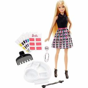 Barbie Conjunto Salão De Cores - Mattel