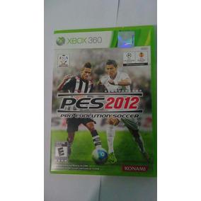 Pro Evolution 2012 Pes 12 Mídia Física Xbox 360 Original
