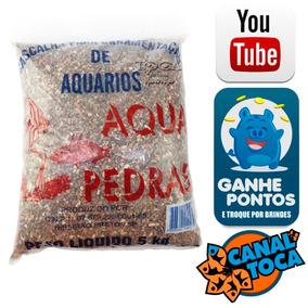 Cascalho Mineiro Para Aquarios Nº 1 - 5kg
