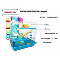 Gaiola Hamster Safari Gigante Promoção Relampago