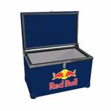 Caixa Termica Cooler Blindada Red Bull 90 Litros Churrasco