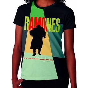 Camiseta Camisa Ramones Pleasant Dreams -baby Look- Rck