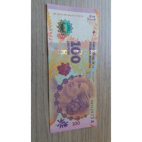 Cédula Argentina 100 Pesos Isabelita Perón Nova