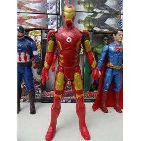 Boneco Homem De Ferro Avengers 30cm C/ Luz E Som Artic