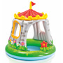 Pileta Inflable Intex Castillo Con Techo Bebe 1.22 X 1.22