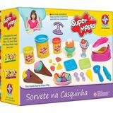 Brinquedo Super Massa Sorvete Na Casquinha - Estrela