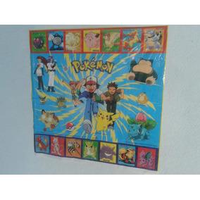 Afiche Promo Vintage Pokemon Primera Generación Tazos !!!